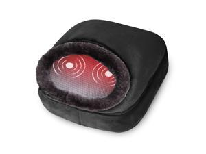 Snailax 3-in-1 Foot Warmer and Vibration Foot Massager, Heated Back Massager, 5 Massage Modes