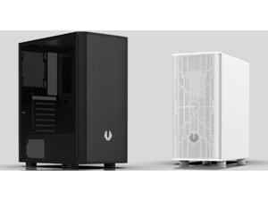 BitFenix NOVA MESH SE Case, BLACK, Steel Side Panel, ATX/Micro ATX/Mini ITX Form Factor, 2 x All Black Fans Pre-installed, BFC-NSE-300-KKXSK-RP
