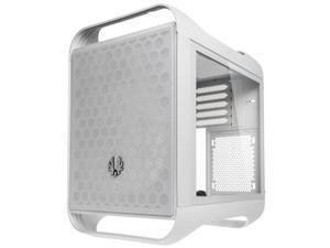 BitFenix Prodigy M 2022 mATX/Mini-ITX Gaming PC Case, RTX 3090 or RX 6900 XT Ready, Vertical GPU and Water Cooling Mounting, Tempered Glass, USB 3.2 Type-C and 2X USB 3.0 Type-A, White
