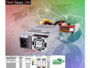 flex atx 1u 300w power supply psu 4 mini itx, sff & rackmount serversactive pfc