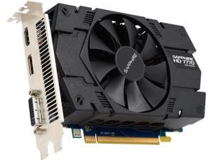 SAPPHIRE Radeon HD 7770 DirectX 11.1 11201-99-90G 1GB 128-Bit GDDR5 PCI Express 3.0 CrossFireX Support Video Card