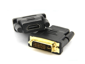DVI 24+5 Male to HDMI Female Adapter Connector