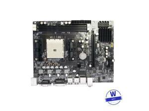 A55 motherboard For AMD FM1 DDR3 VGA DVI Desktop Computer Mainboard