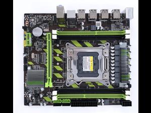 X79 PROS LGA2011 Desktop computer motherboard 64GB DDR3 4-channel mainboard support ECC RAM SATA3.0