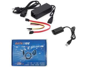USB 2.0 to IDE SATA S-ATA 2.5 3.5 Hard Drive HD HDD Converter Adapter Cable