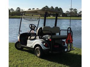 Golf Cart Rear Seat Safety Grab Bar, EZGO, Club Car, Yamaha