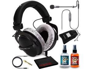 Beyerdynamic DT 770 Pro 80 Headphone Kit + Antlion ModMic USB Uni/Omni Boom Mic