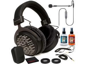 Beyerdynamic DT 1990 Pro Headphones Kit + Antlion ModMic USB Uni/Omni Boom Mic