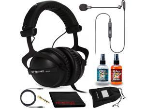 Beyerdynamic DT 770 Pro 32 Headphones Kit + Antlion Audio ModMic Uni Boom Mic
