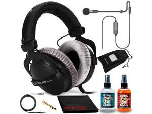 Beyerdynamic DT 770 PRO 250 Headphone Kit + Antlion ModMic USB Uni/Omni Boom Mic