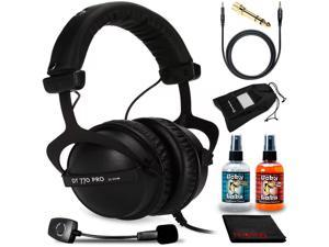 Beyerdynamic DT 770 Pro 32 Headphones Kit + Antlion Audio ModMic Wireless Mic