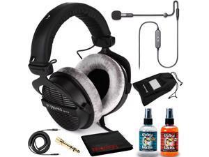Beyerdynamic DT 990 Pro250 Headphone Kit + Antlion ModMic USB Uni/Omni Boom Mic
