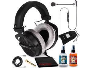 Beyerdynamic DT 990 Pro 250 Headphones Kit + Antlion Audio ModMic Uni Boom Mic