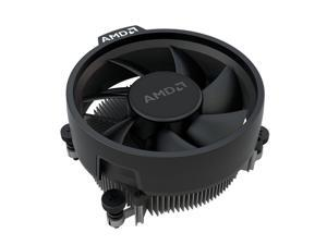 AMD Wraith Stealth Socket AM4 4-Pin Connector CPU Cooler With Aluminum Heatsink & 3.93-Inch Fan With Pre-Applied Thermal Paste For Desktop PC Computer