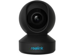 Reolink E1 Pro 4MP HD Plug-in Indoor Security Camera, 2.4/5 GHz WiFi, Two-way Audio, Motion Alert, Multiple Storage Options, Works with Google Assistant, Baby Monitor/Nanny/Pet Camera