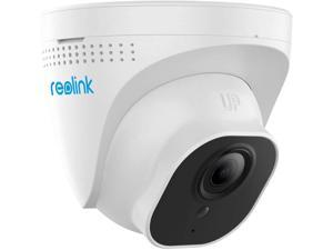 Reolink PoE IP Camera Outdoor 5MP(2560x1920 at 30 FPS) HD Video Surveillance Work with Google Assistant, Audio 100ft IR Night Vision, Motion Detection, Up to 256GB SD Card, RLC-520