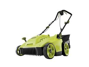 Sun Joe MJ506E Electric Reel Lawn Mower w/ Grass Catcher | 16 in | 6.5 Amp | Quad Wheel | 24 Blade
