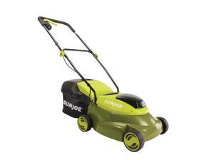Sun Joe MJ24C-14-XR Cordless Lawn Mower with Brushless Motor | 24-Volt | 5-Ah | 14-Inch