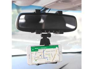 Cellet Rear view Mirror Car Mount Bracket Compatible with Apple 11 Pro Max Xr Xs Max X 8 Plus 7 6 Samsung Note 10 10+ 9 8 5 Galaxy S20 Ultra S10 S10e S10+ S9+ S9 S8+ Google Pixel 4 4XL 3 3a 3XL 3aXL