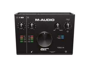 M-Audio AIR 192 4 — 2-In/2-Out USB Audio Interface with Recording Software from ProTools & Ableton Live, Plus Studio-Grade FX & Virtual Instruments