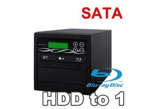 Spartan 500GB Hard Drive to 1 Target Multiple Blu Ray Disc Copy Duplicator with USB connection to PC (Standalone Video & Audio Disc Duplication System) B01-SSPPRO