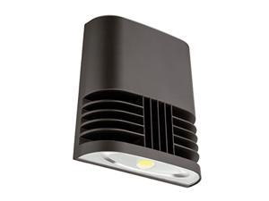 Lithonia Lighting OLWX1 LED 20W 40K M4 Contractor Select LED Wall Pack Dark Bronze