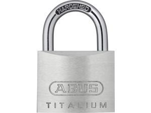 Silver ABUS 41//50 C KD 2-Inch Eterna Laminated Steel Keyed Different Padlock