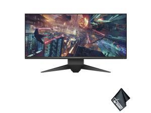"Dell Alienware AW3418DW 34"" 21:9 Curved 120 Hz G-Sync IPS Gaming Monitor Standard Accessory Bundle"