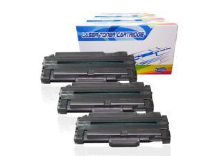Black,1 Pack SuppliesOutlet Compatible Toner Cartridge Replacement for Samsung MLT-D105L for Use with SF-650