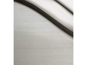 Rectangle Shade Tetra 2-Light Bath Bar Cream LED Polished Chrome Justice Design Group Lighting FAB-8422-55-CREM-CROM-LED2-1400 Textile