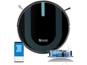 Proscenic 850P Wi-Fi Connected Robot Vacuum Cleaner, Works with Alexa & Google Home, 3-in-1 Mopping, Self-Charging with 3000Pa Strong Suction on Carpets and Hard Floors