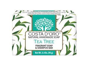 Siege Natural Soap, Tea Tree scented, 5503