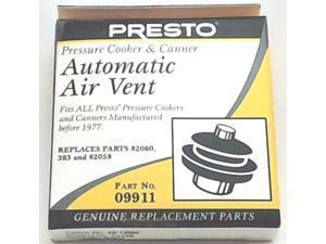 Presto Pressure Cooker Automatic Air Vent 09911