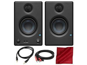 "PreSonus Eris E3.5 3.5"" Professional Multimedia Reference Monitors with Acoustic Tuning Pair and Basic Accessory Bundle"