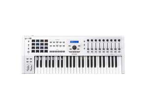 Arturia KeyLab MKII 49 Professional MIDI Controller and Software (White)