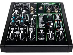 Mackie ProFX Series, 6 Mixer - Unpowered, 6-Channel w/USB (ProFX6v3)