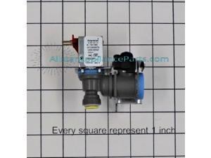W10498974 / 4318047 Whirlpool Refrigerator Water Valve