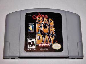 Conker's Bad Fur Day N64 Vedio Games Cart Cartridge for N64 Console