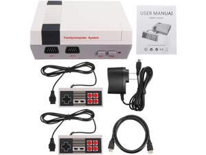 Mini 8Bit Retro Classic NES Console TV Game Built-in 500 Games + 2 Handle Controllers