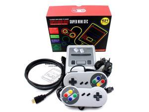 Mini Super SNES/SFC Retro Classic Edition Console Built-in 621 Games 8Bit HDMI Out + 2 Handle Controllers