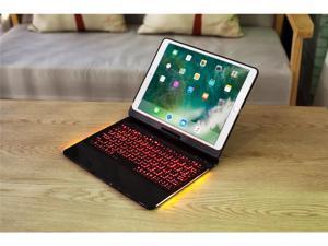 "For iPad Pro 10.5"" Backlit Light Wireless Bluetooth Keyboard Case Cover Fashion Luxury Ultrathin Ultralight Keyboard Shell With Automatic Sleep Function(Black)"