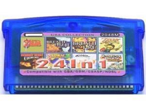 24 in 1 Game Boy advance Multi Cart Legend of Zelda/ Breath of Fire/ Harvest Moon/ Donkey Kong Country/ Sonic Advance