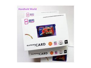 Supercard Mini SD Flash Card Adapter Cartridge for GBA GBASP GBM IDS NDS NDSL