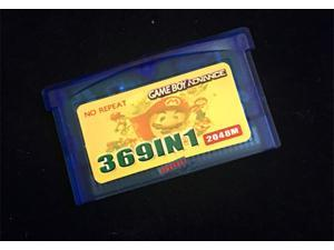 369 in 1 Nintendo Pokémon Mario Rockman Series Video Games Cartridge for GBA SP NDS