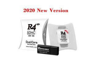 2020 R4 R4i White Dual Core Flash Card Adapter for DS 2DS New 3DS XL V1.0-11.9