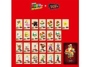 25pcs Super Mario 3D World Bowser's Fury Amiibo NFC TAG Cards
