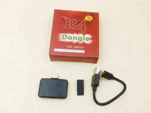 New R4 R4I R4S Dongle Type-C Flash Cartridge Adapter Kit for Nintendo Switch