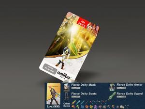 Fierce Deity Link (Majora's Mask) Amiibo NFC Tag Card - The Legend of Zelda Breath of the Wild