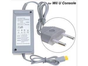 EU Plug 100-240V 15V 5A Home Wall Power Supply AC Charger Adapter Cable For Wii U WiiU Game Console Host