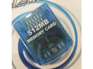 512MB Game Saved Memory Card for WII NGC Console,2043 BLOCKS x 4 ,NON Compress